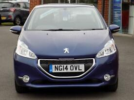 PEUGEOT 208 1.4 HDI ACTIVE 5dr (blue) 2014