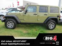 2013 Jeep Wrangler Rubicon 4dr., Low KMs, Navigation, Bluetooth