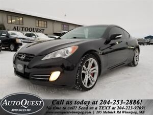 2010 Hyundai Genesis Coupe - NAV, Htd. Leather, Pwr. Sunroof!