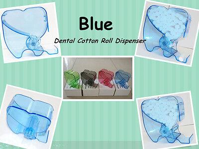 New Dental Blue Cotton Roll Dispenser Holder Organizer 135 Autoclavable