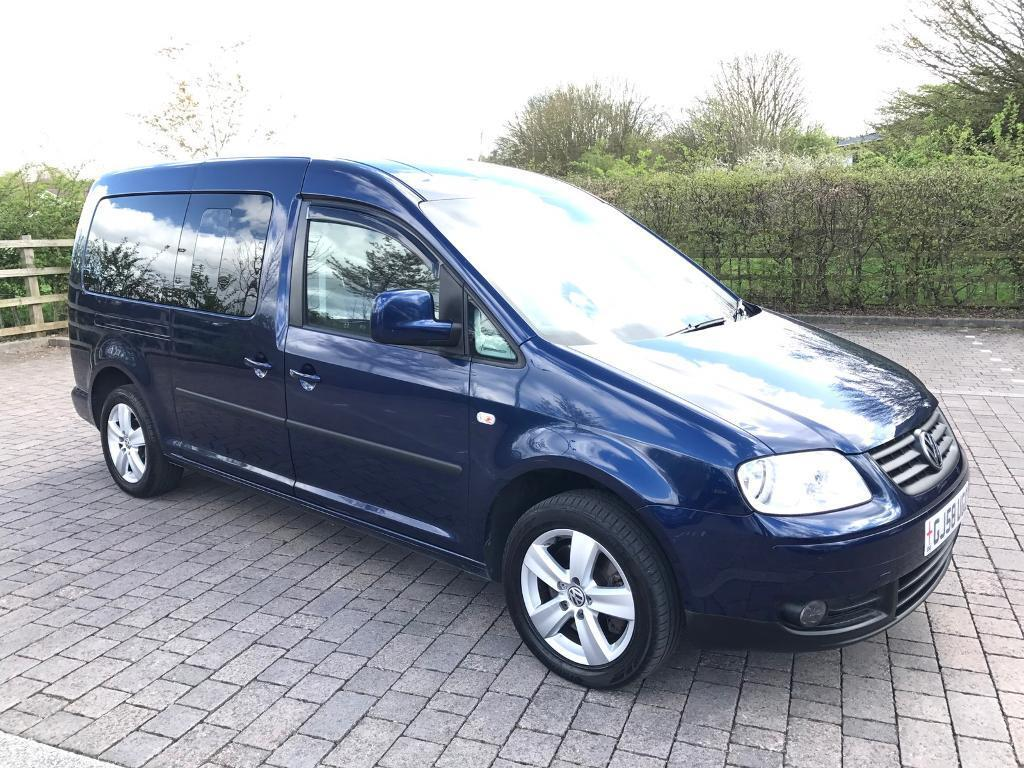 2008 58 vw volkswagen caddy maxi 2 0 tdi maxi life bus 5dr. Black Bedroom Furniture Sets. Home Design Ideas