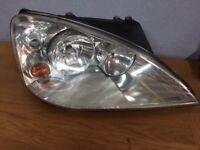 Ford galaxy o/s headlight