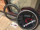 Token Carbon/Aluminium Clincher wheels