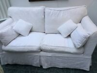 Lovely metal framed sofabed good condition