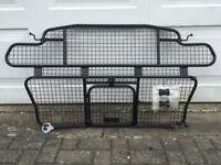 Jaguar Sportbrake luggage/dog guard, cargo barrier