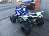 YAMAHA RAPTOR 700R CUSTOM RENTHAL FMF ROAD LEGAL