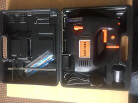 New unused jigsaw with carry case