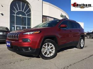 2014 Jeep Cherokee LOW KMS/ONE OWNER/8.4 TOUCHSCREEN