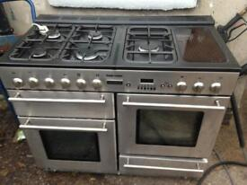 Range cooker all gas 1100mm wide tecnik