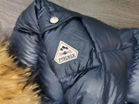 Kids age 16 shiny pyrenex coat