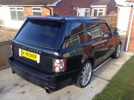 RANGE ROVER L322 VOGUE 3.0 TD6 FACELIFT 22 ALLOYS MAY PX SWAP