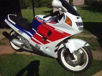 Honda cbr 1000f supersport