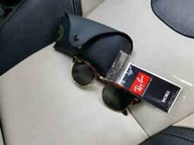 Rayban Clubmaster 3016 sunglasses genuine as new