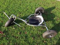 Stainless Steel Trike Buggy and Rage Traction Kite