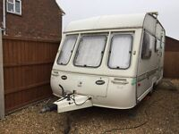 Swift Corvette Early 1990s 4 Berth Touring Caravan, Excellent Condition