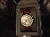 Dkny red womens watch