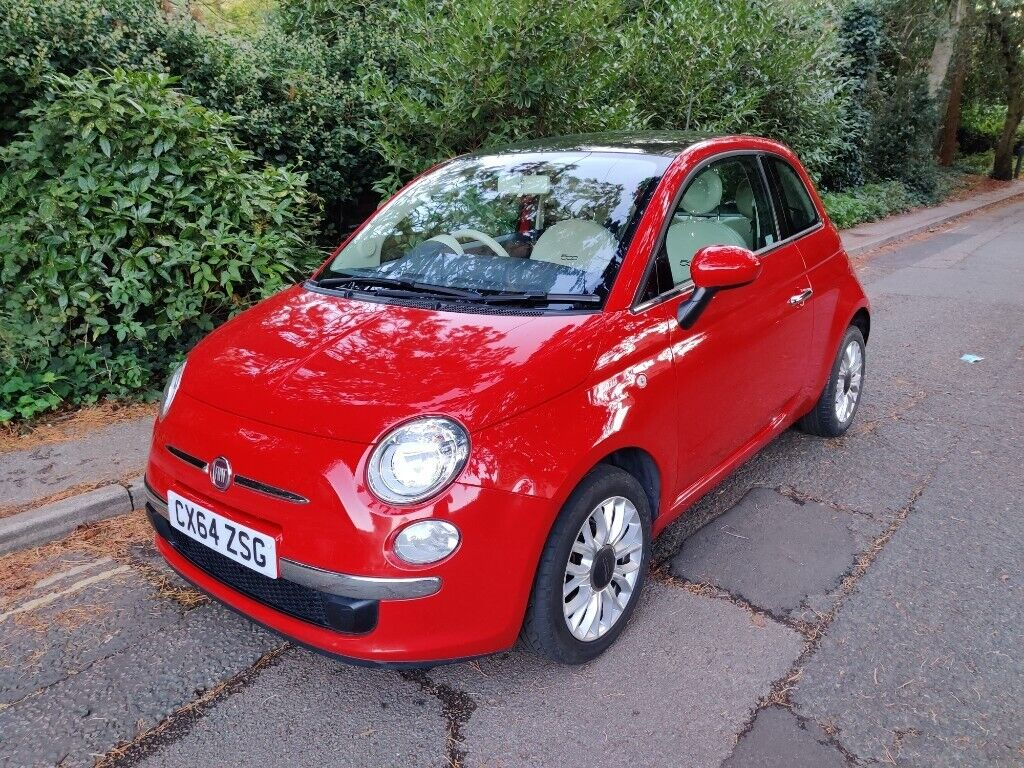 2015 Fiat 500 Lounge Ulez Free Low Mileage 30 Road Tax Aux Usb Panoramic Roof