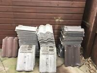 Roof tiles, Marley. Used Free