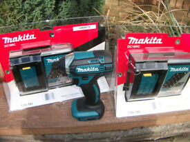 NEW! Genuine Makita DC18RC 7.2v- 18v Li Ion Battery Rapid Charger Cost £58.98!