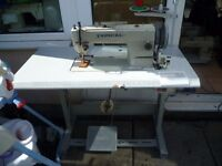 TYPICAL Industrial WALKING FOOT TOP & BOTTOM FEED Sewing machine Model GC0302