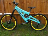 cover playmate full suspension downhill bike, dh, freeride
