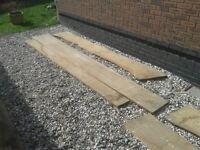 English Oak Waney Edge Boards for sale