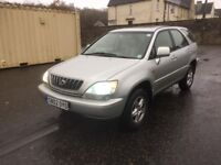 BARGAIN LEXUS RX300 FULL SERVICE HISTORY RELIABLE 4X4 LONG MOT PX WELCOME £1300