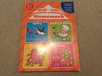 Help with Homework Book 5+ yrs key skills Spelling reading writing maths ... NEW