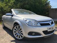 Vauxhall Astra TwinTop Covertible Only 65k Full Service History High Spec Keyless Entry Half Leather