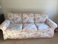 Ikea Ektorp 3 Seater Sofa Bed