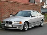 BMW (E36) 328i Coupe Auto (1998/S Reg) - GENUINE 68K + FULL BMW SERVICE HISTORY + 1 OWNER FROM NEW +