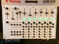 Vestax VCM 600 midi controller for Ableton in white