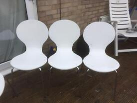 Keeler style back chairs set of 3
