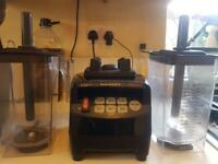 Pair of JTC Omniblend V Professional Blenders (1 faulty) with accessories Total RRP £640