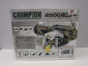 Champion 2500 lb. Camouflage ATV/UTV Winch (NEW) - We Buy and Sell Outdoor Equipment - 117652 - FY26405