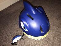 Crazy Safety Shark Kids Cycling Helmet