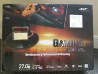 """Acer XB270H G Sync 27"""" 144Hz Gaming monitor - boxed / perfect working order"""
