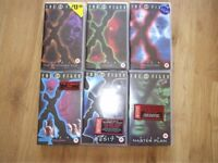 FREE X-FILES Files 1-6 VHS video cassettes inc Tooms, Abduction, Colony