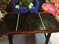 Air hockey table for children