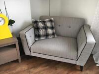 DFS sofas. Three seater and two seater.