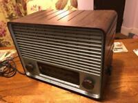Vintage Pye Cambridge Bakelite Radio