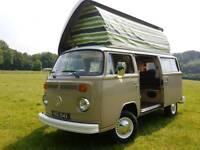 Volkswagen Bay campervan camper van motorhome