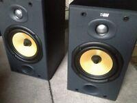 B&W DM601 S2 speakers - like new