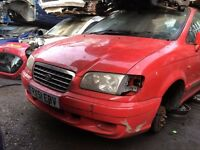 HYUNDAI TRAJET GSI 2001- FOR PARTS ONLY