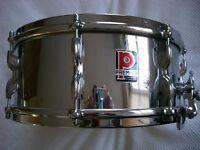 """Premier Model 5 Royal Ace COB snare drum 14 x 5 1/2"""" - England '60s"""