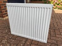 Radiator Double Panel 700mm width 600mm High Nice Condition 3 months old