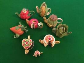 Miniature China Tea Pot collection