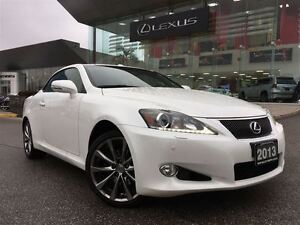 2013 Lexus IS250C Nav BUcam Lthr Btooth