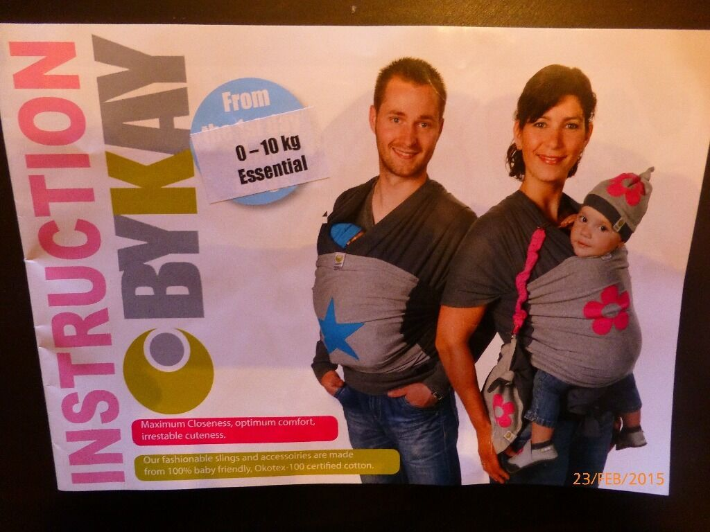 Bykay Baby Wrap Carrier 0 10 Kg Brand New Suitable From Birth