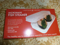 Fish Steamer. Lakeland Microwave Fish Steamer, the healthy way to cook fish and vegetables.!
